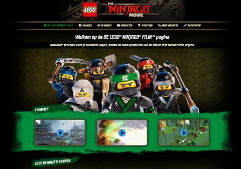 MiniWebsite NinjagoTheMovie